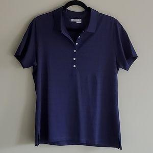 Callaway Navy Button Down Shirt Large